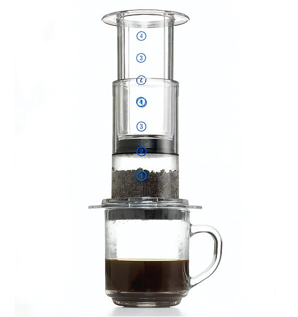 Brew Aeropress - Patriot Coffee Roast Brew
