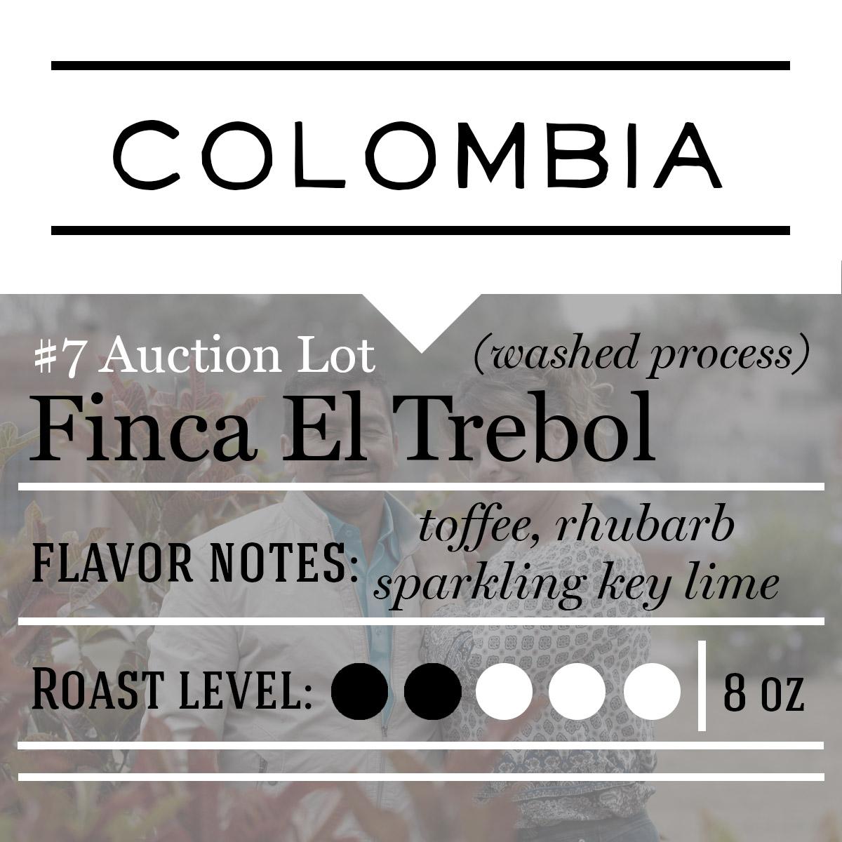 Finca El Trebol - Patriot Coffee Roasters - Central Florida